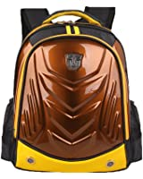 Cool Hard Shell Transformers Face Kids Book Bags School Backpack for Boys