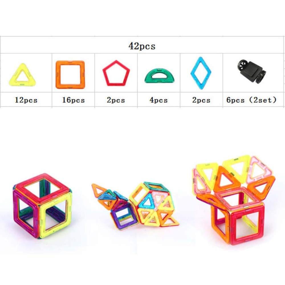 SPFAZJ Magnetische Spielzeugkinder zusammengebaute Spielwaren magnetisches Stück blockiert Paket 3-6-8-10 B07GTKN6P2 Bau- & Konstruktionsspielzeug Kinder mögen | Spielzeugwelt, spielen Sie Ihre eigene Welt