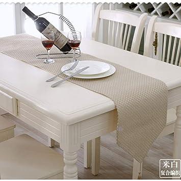 camino de mesa, paño de tela cubierta de tabla toalla toalla tejida tejida bandera de
