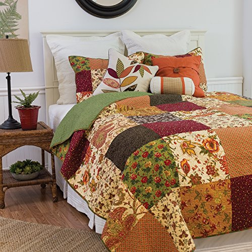 C&F Home 82106.3KSET Rustic Lodge King 3Piece Cotton Quil...