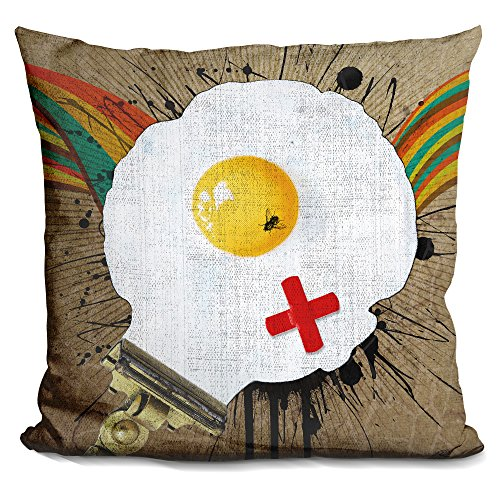 - LiLiPi Time for Breakfast Decorative Accent Throw Pillow