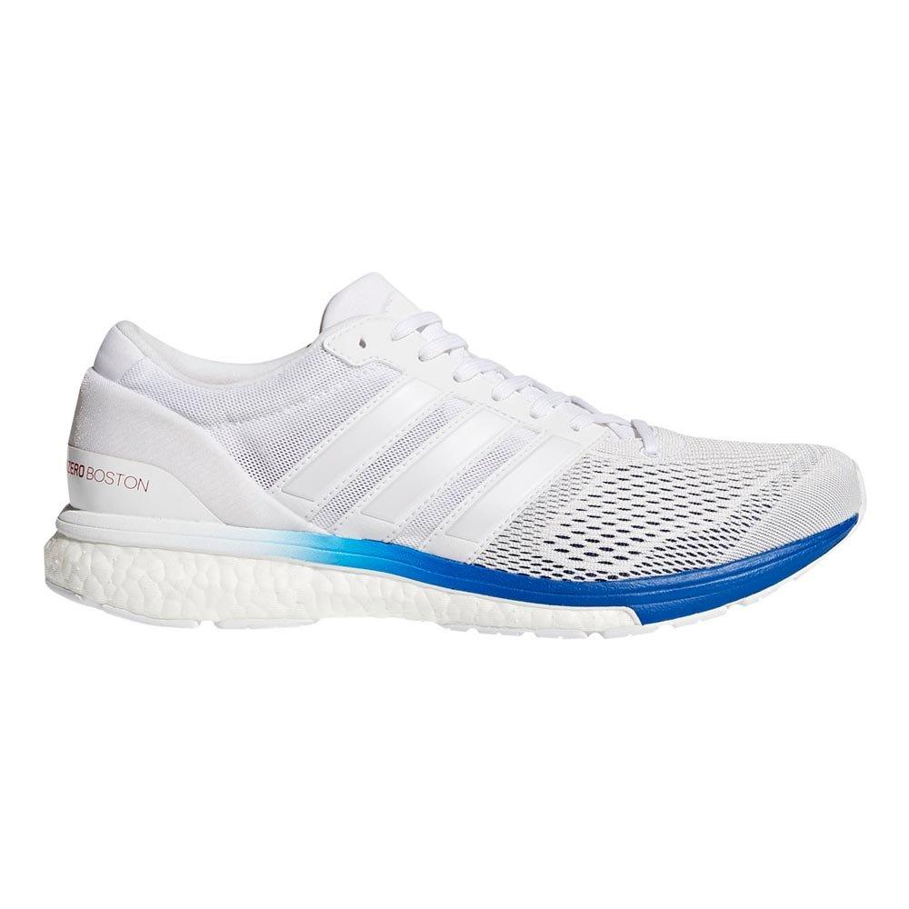 adidas(アディダス)メンズ ランニングシューズ アディゼロ ボストン ブースト2 アクティブ ジョギング CP9362 B079VSZNPF 27 ランニングホワイト
