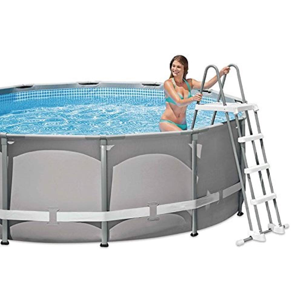 Amazon.com: Intex Deluxe - Escalera de piscina con escalones ...