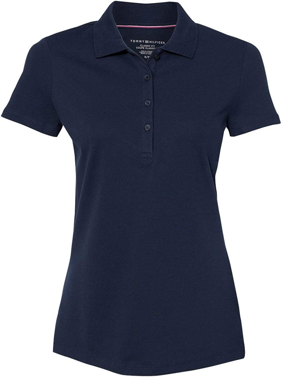 Tommy Hilfiger Womens Classic Fit Max 50% OFF Ivy 13H453 - Sport Shirt Piqué New color