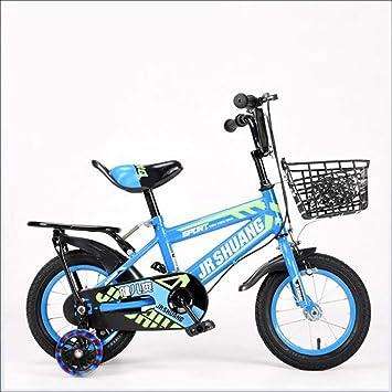 ZBHGF Bicicletas Portátiles para Niños, Bicicletas para ...
