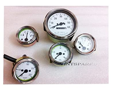 Willys mb jeep ford gpw gauges kit speedometer temp oil fuel amp willys mb jeep ford gpw gauges kit speedometer temp oil fuel amp gauges white fuel amazon canada sciox Gallery