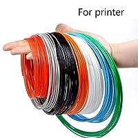 Filament PLA 1,75mm, ERYONE Filament PLA, 8 couleurs, PLA de filament pour impression 3D pour imprimante 3D, 0.2kg 1 Spool