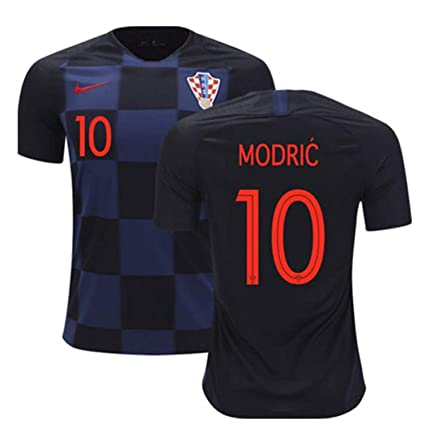 ead9411d048 AdriK Brand 2018 World Cup Croatian National Team Away Modric Men s Jersey  - Soccer Jerseys