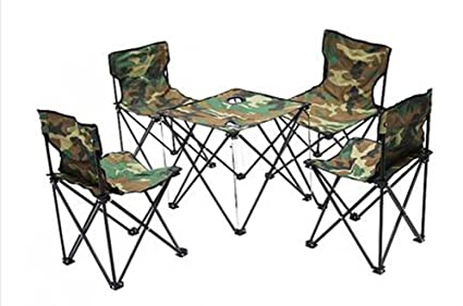 Portable Outdoor Table and Chair Furniture Set , green - Amazon.com: Portable Outdoor Table And Chair Furniture Set , Green