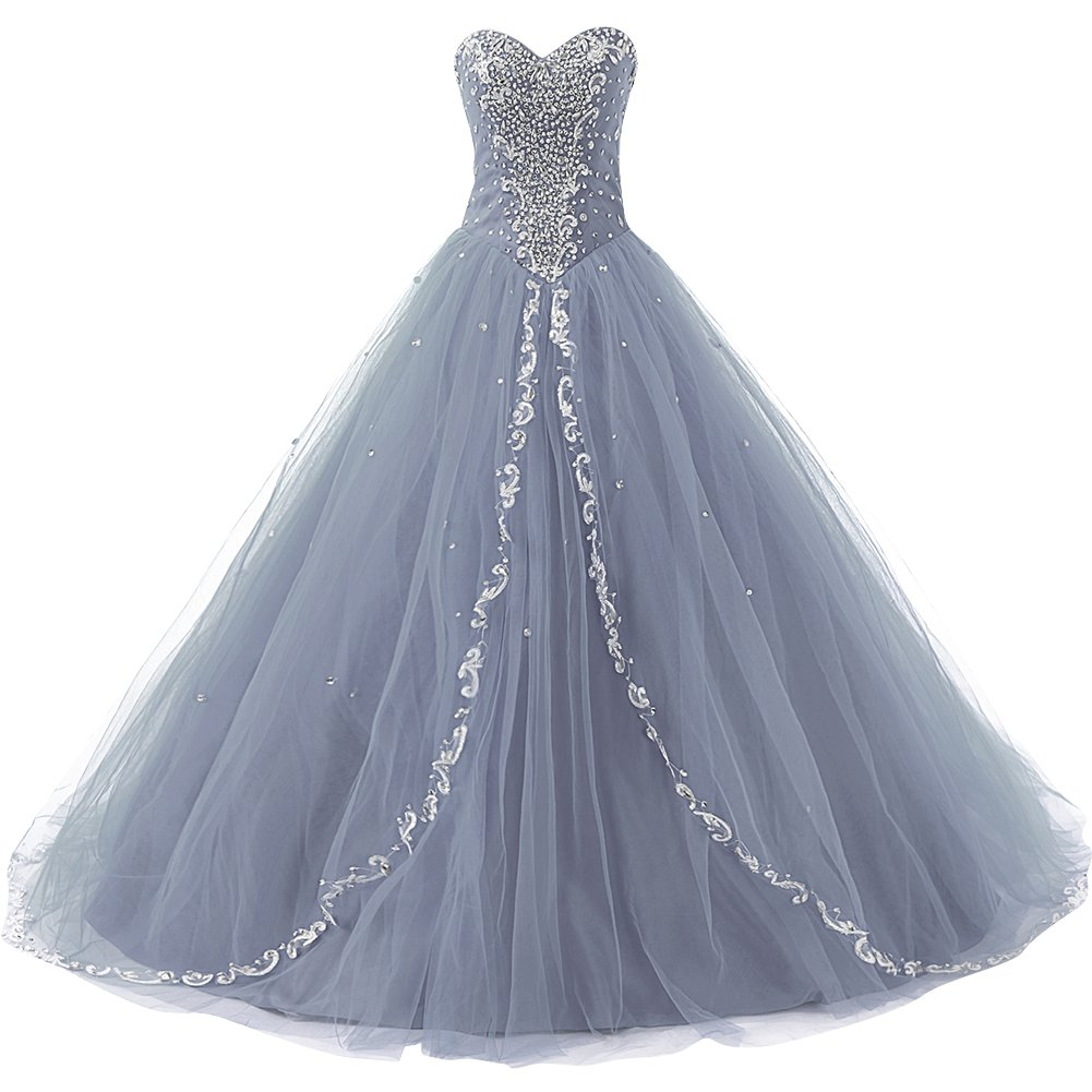 955f96699ae Top3  JAEDEN Wedding Sweetheart Long Quinceanera Dresses Formal Prom Dresses  Ball Gown