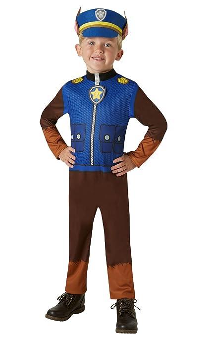 Disfraz oficial de la Patrulla Canina de Rubies. Para niños de 2 a 3 años, altura de 98 cm