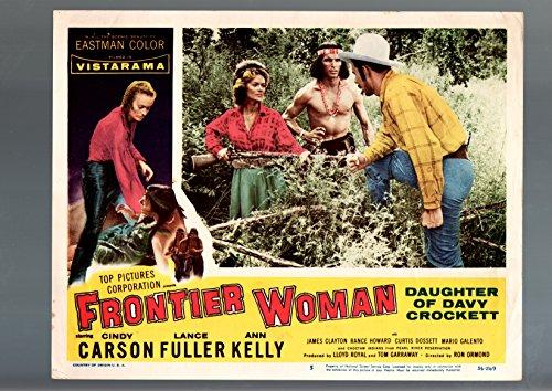 Bounds WOMAN-LOBBY CARD-#5-1956-CINDY CARSON-LANCE FULLER- ANN KELLY G/VG