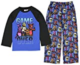 five nights of freddy merchandise - Five Nights at Freddy's Game Over Group Two Piece Youth Blue Pajama Set (X-Large, 10)