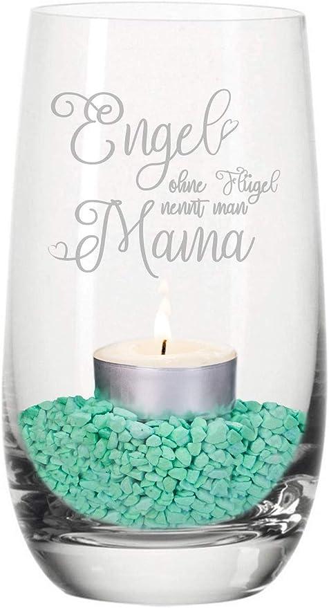Geschenke 24 Windlicht Engel Ohne Flügel Nennt Man Mama Dekoratives Teelicht Zum Muttertag Schöne Geschenkidee Für Mütter Tivoli