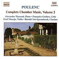 Poulenc: Complete Chamber Music, Vol. 2: Sonata for violin and piano / Bagatelle for violin & piano / Sonata for clarinet & piano / Sonata for piano and cello