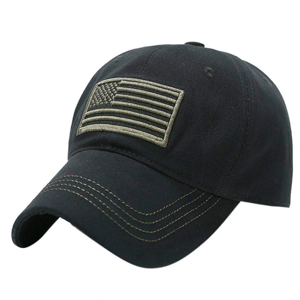 JINRMP Hat Men Unisex Trucker Special Tactical Operator Forces USA Flag Patch Baseball Cap Hats for Women