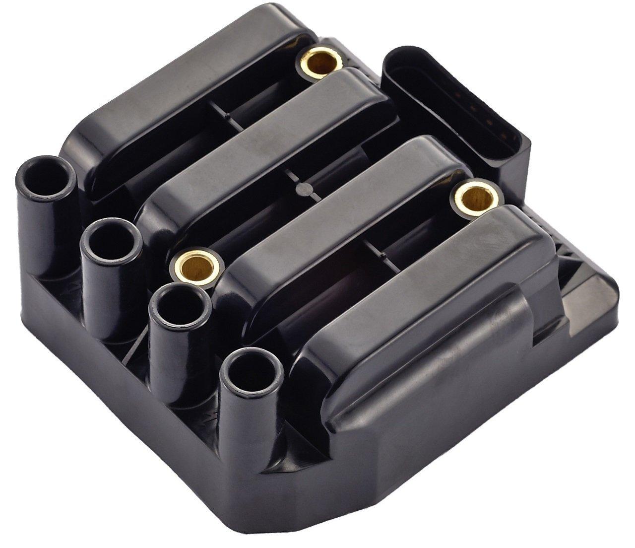 Ignition Coil Pack For Volkswagen Vw Beetle Golf Jetta 66 Engine Diagram Clasico 20l L4 Fit Uf484 C1393 5c1390 Automotive
