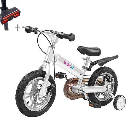 Huoduoduo Bicicleta, Bicicleta para Niños, 16 Pulgadas, Cuerpo De Aleación De Magnesio,