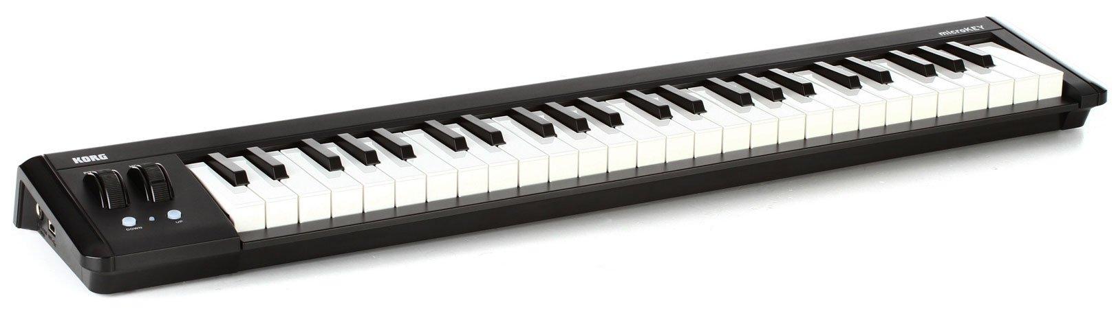 KORG microKEY2 49-Key iOS-Powerable USB MIDI Micro Keyboard Controller - Black by Korg (Image #3)