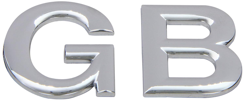 SUMEX LOG1525 Emblem GB Chromed 58 x 47 mm - Chrome
