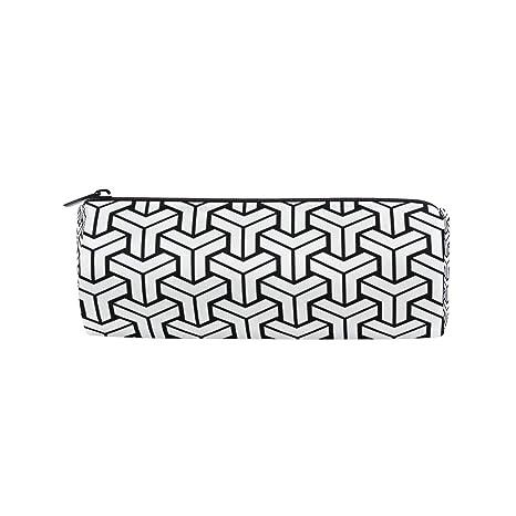 Amazon.com: Estuche para lápices, moderno, diseño geométrico ...