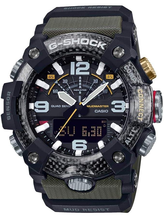 Reloj Casio GG-B100-1A3ER Verde Resina Hombre