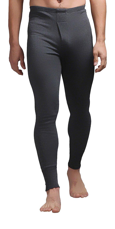 Heat Holders - Mens Winter Warm Thermal Underwear Pants Long Johns Bottoms (Medium: 33-35'' Waist, Charcoal)