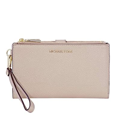 31f9b9c492708 Michael Kors Adele Leather Smartphone Wristlet- Truffle  Handbags   Amazon.com