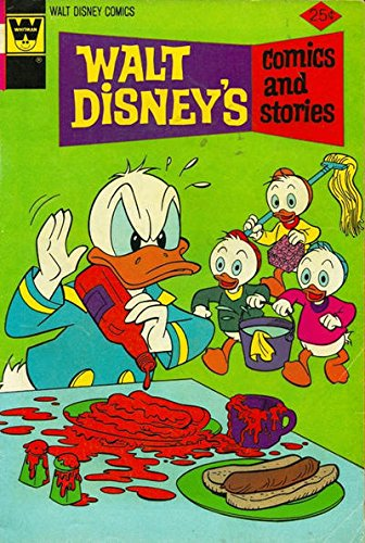 Walt Disney's Comics and Stories 407 VF- Whitman Variant 1940 - 407 Disney
