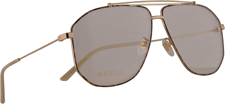 Gucci GG0441O Gafas 63-10-145 Havana Dorado Con Lentes De Muestra 003 GG 0441O: Amazon.es: Ropa y accesorios