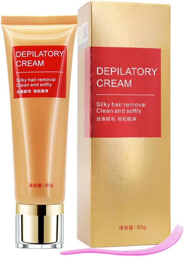 Yiitay - Crema depilatoria para depilación de cabello para hombre y mujer, cuerpo entero, color crema: Amazon.es: Belleza