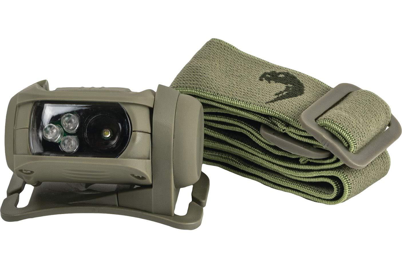 Viper TACTICAL Special Ops Verde Linterna Frontal