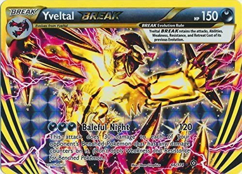 Yveltal BREAK Pokemon XY Steam Siege NM 66//114