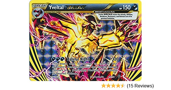 Pokemon - Yveltal Break (66/114) - XY Steam Siege - Holo