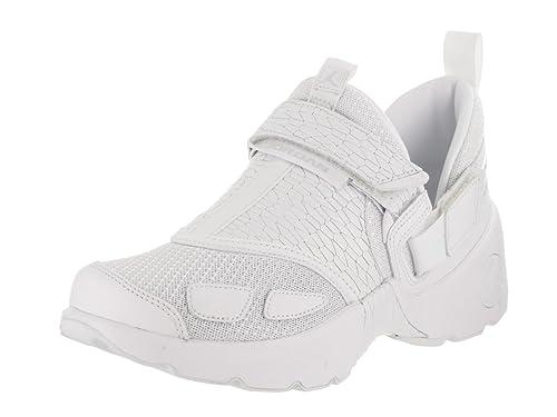 5d58840bf65e85 Jordan Nike Kids Trunner LX PR HC Gg White White PurePlatinum Training Shoe  5.5