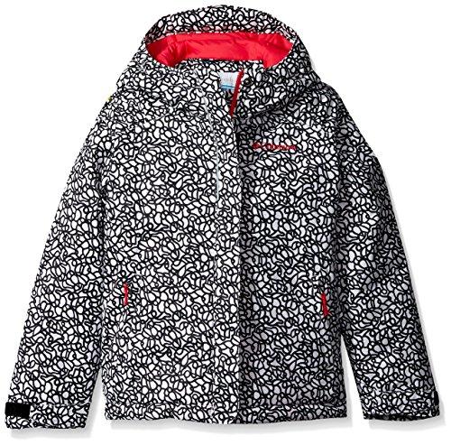 Columbia Little Girls' Toddler Horizon Ride Jacket, White Print, 3T