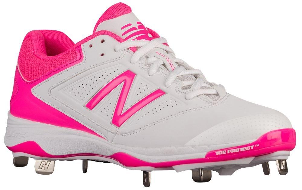 [ニューバランス] New Balance 4040v1 Metal Low レディース ベースボール [並行輸入品] B071VVFB54 US08.5|ピンク/ホワイト ピンク/ホワイト US08.5