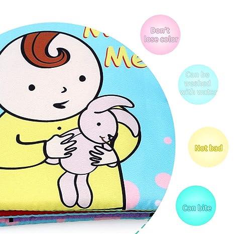 QUUY Regalos de Pascua para bebés de Libros de Tela, Libros ...
