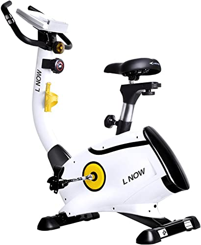 L-NOW-Upright-Bike-Magnetic-Resistance-Exercise-Bike-Indoor-Stationary-Bike-D808
