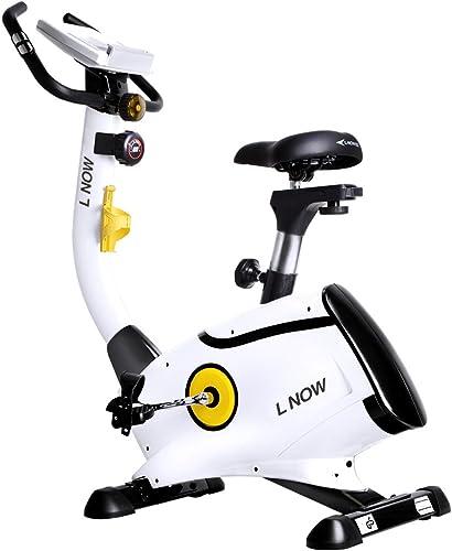 L-NOW-Upright-Bike-Magnetic-Resistance-Exercise-Bike-Indoor-Stationary-Bike-D808