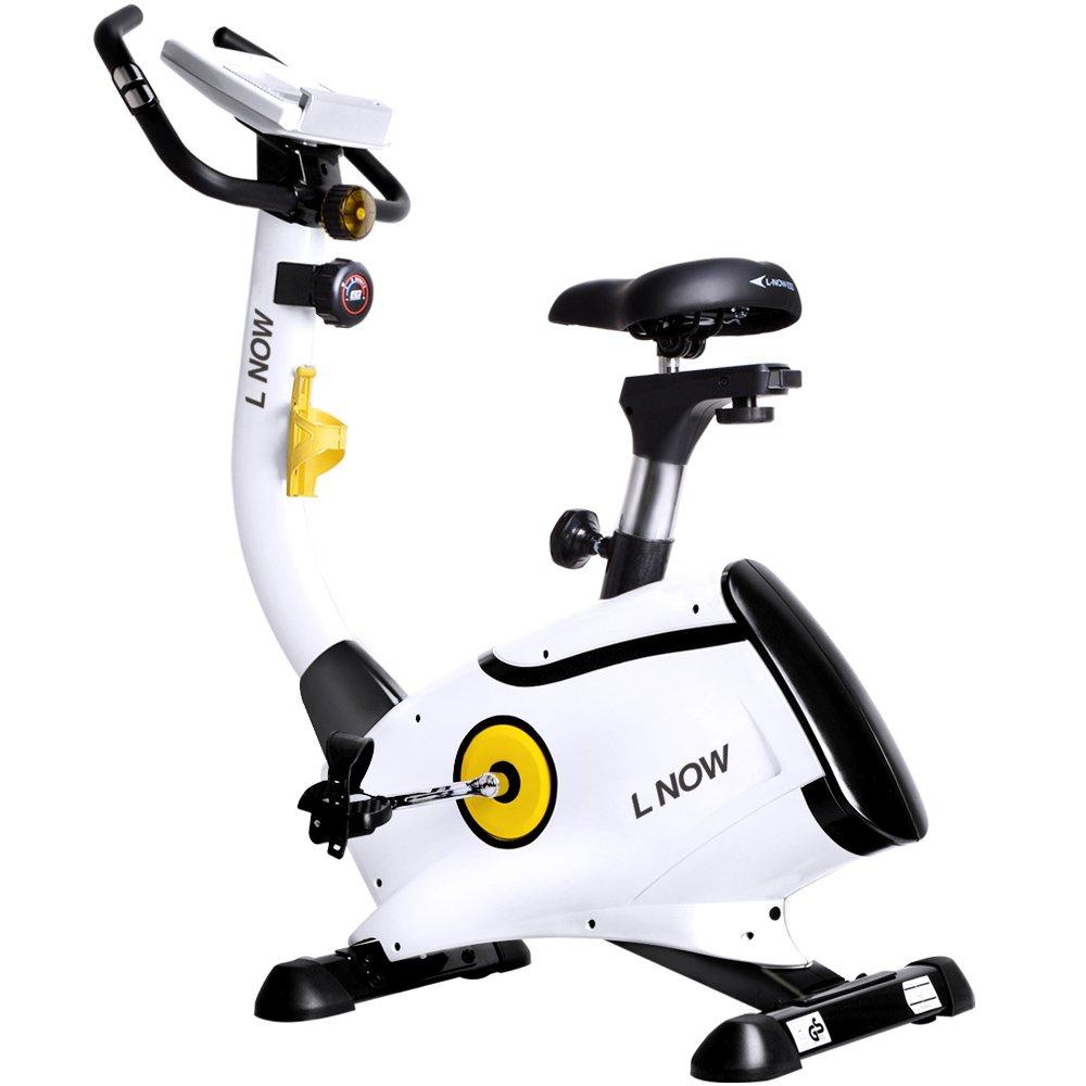 L NOW pooboo Upright Bike Magnetic Resistance Exercise Bike Indoor Stationary Bike D808