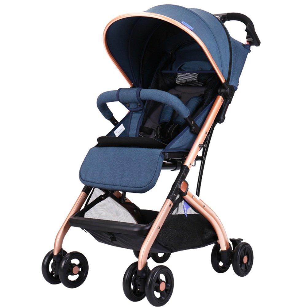 HAIZHEN マウンテンバイク 赤ちゃんのベビーカーはリクライニング軽量折りたたみが可能可変トロリーケースフリーインストール 新生児 B07C87TR32 B B