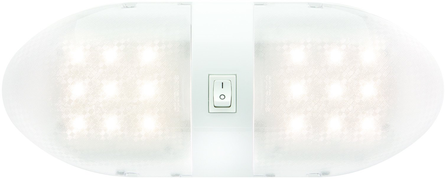 Optronics RVILL34P Double Fixture On/Off Switch (Interior Led Rv Light) by Optronics