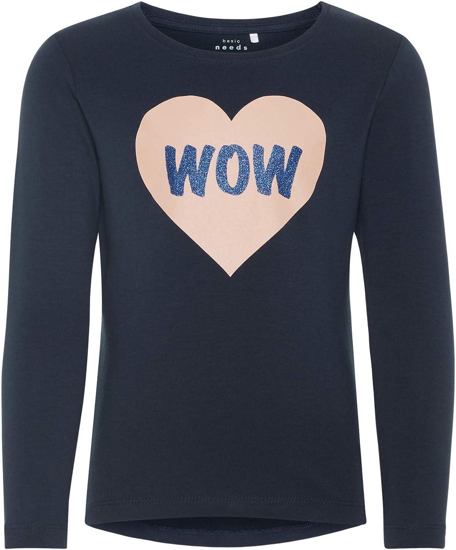 NAME IT M/ädchen Langarmshirt Shirt LS TOP 13159631