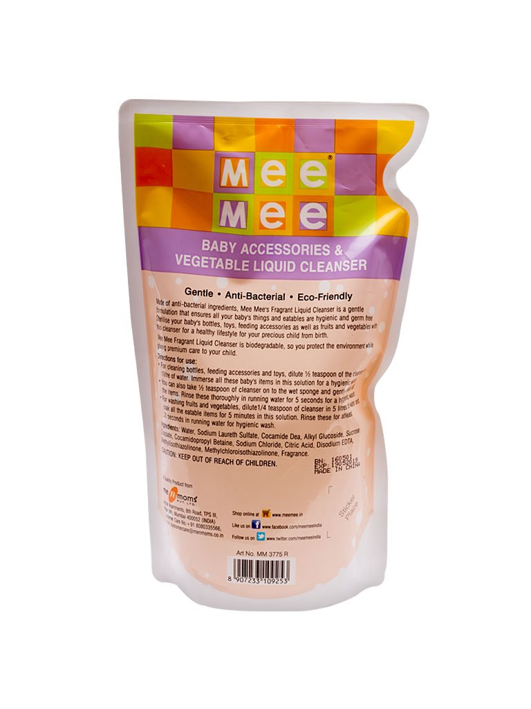 Buy Mee Baby Liquid Cleanser For Fruits Bottles Accessories Pigeon Kids Hair Body Wash Strawberry Grape Refill 350ml And Toys 15l White Online At Low Prices In India