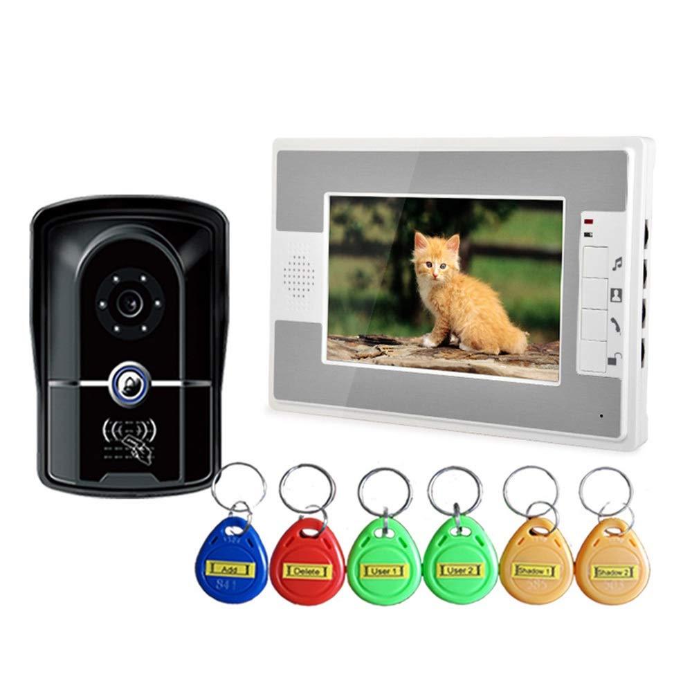 KRPENRIO 7-inch swipe waterproof HD video doorbell by KRPENRIO (Image #2)