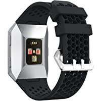 Watch Strap for Fitbit Ionic, FreeDeal Sport Silicone Candy Colored Wristband Fitbit Watch Band