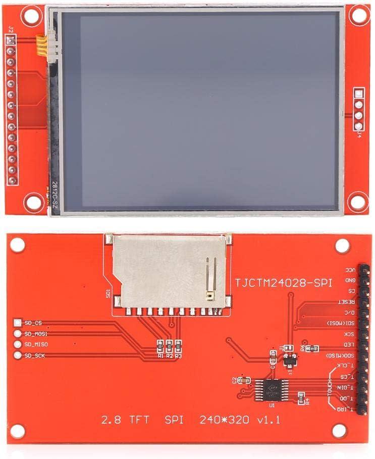 240 x 320 SPI TFT LCD Touch Panel Serielles Anschlussmodul mit PCB ILI9341 5V//3,3V Farb-LED-Display Ccylez 2,8SPI TFT LCD-Display Touch Panel