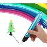 3D Pen set Baisili 3D Drawing Printing Doodler Pen for Kids, Teens with LED Display and Toys for Kids, Aviation Ceramic Nozzle No Mess, Non-Toxic