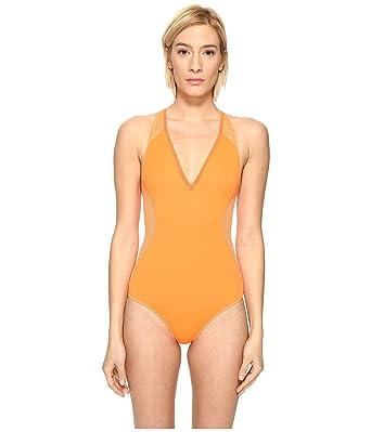 75ba3b50b40 Stella McCartney Womens Neoprene & Mesh One-Piece at Amazon Women's ...